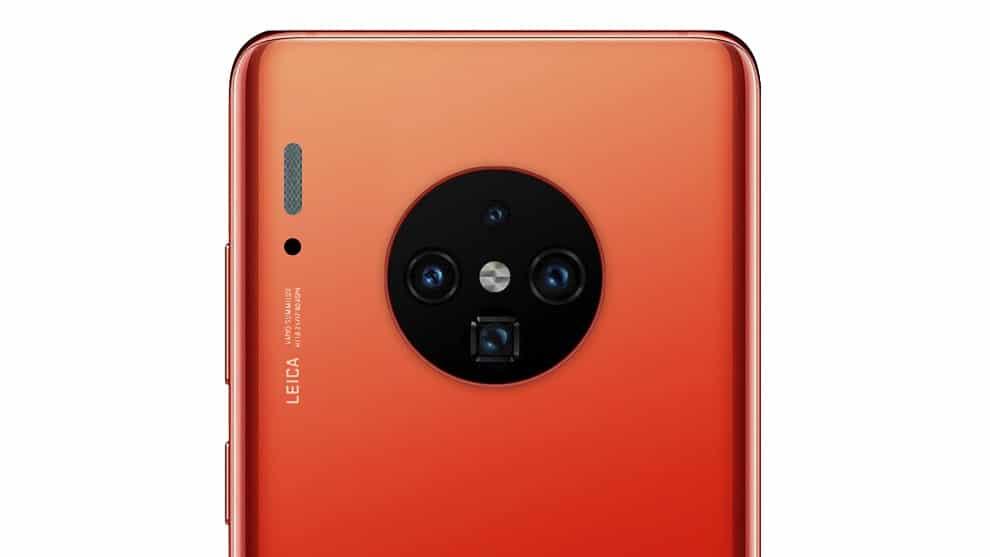Huawei Mate 30 Pro caméra