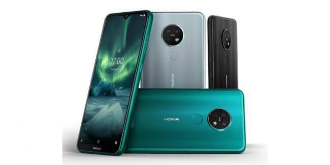 Nokia 6.2 et 7.2