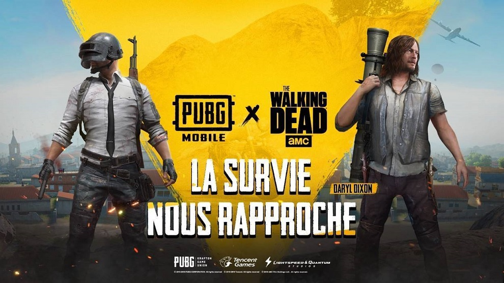 The walking dead PUBG Mobile