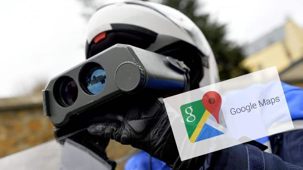 Controle de police Google Maps
