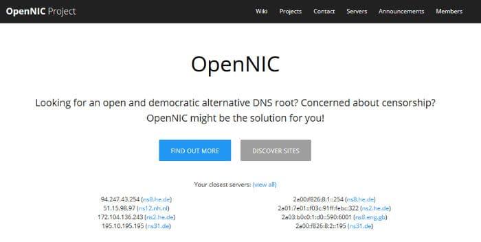 open nic