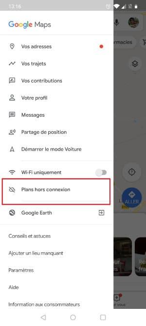 gps sans connexion