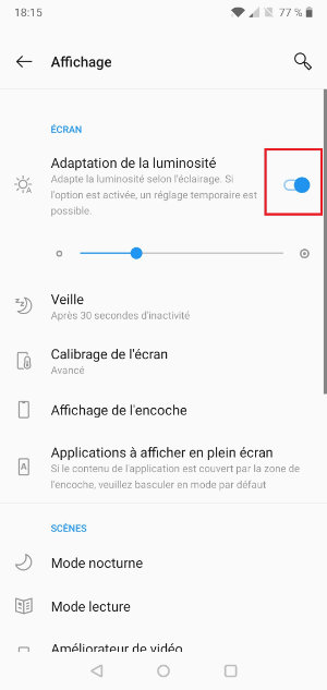 batterie android