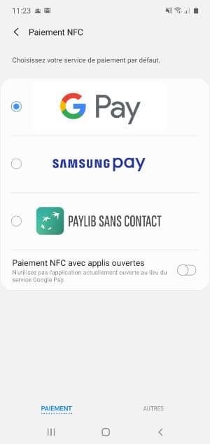 paiement google pay