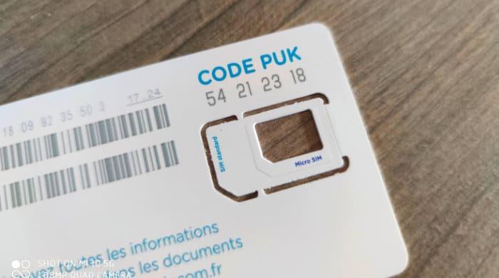 code puk