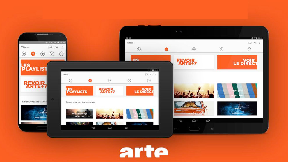 arte tv appli