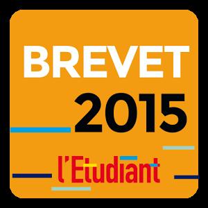 BREVET 2015 AVEC L'ETUDIANT